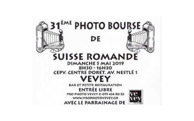 Wir sind da: Photo Bourse de Suisse romande 5.5.2019